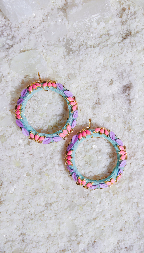 Hand Embroidered Hoops