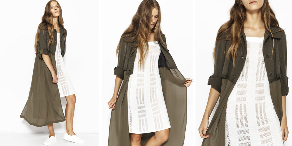 Sabatini Twin Layer Trench Coat
