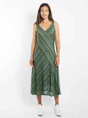 Jungle Metallic Knit Dress