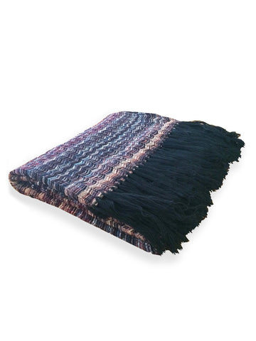 Berry Knit Throw