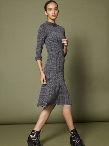Tweed Knit Dress