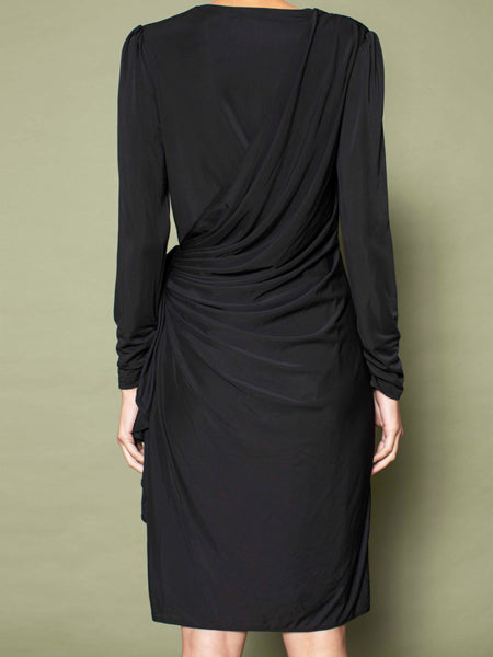 Slinky Wrap Dress