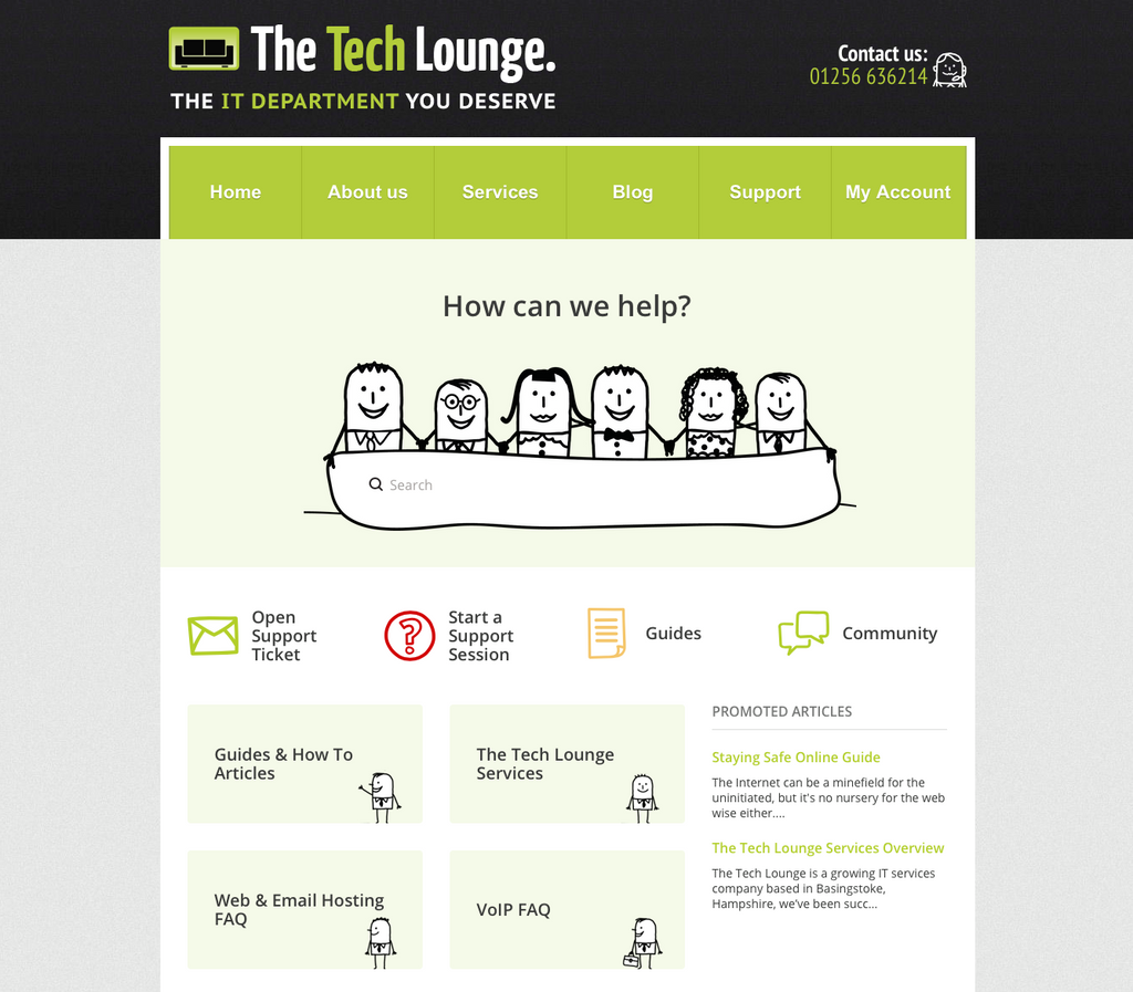 Zendesk-customization-for-The-tech-lounge-from-Lotus-Themes