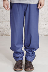ssfw 153 c, relax fit woolen trousers