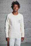 nwm 15.4 crewneck sweater with an embroidered portrait made from 100% organic cotton