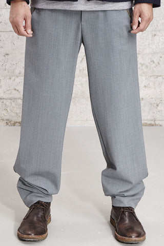 ssfw 153 b, relaxed fit woolen trousers