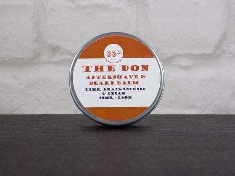 the don, 50ml: aftershave and beard balm, 100% natural handmade skincare