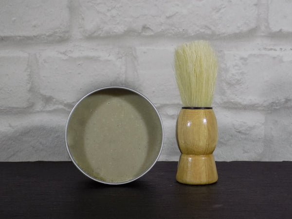 devonshire green, 100ml: shaving soap, 100% natural handmade skincare