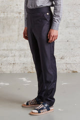 tapered fit trousers, ssfw164