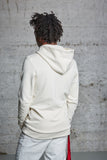 "nwm 15.6 ""the wanderer"" ton sur ton embroidered on a hoody made from 100% organic cotton"