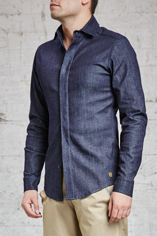 ssfw 160: slim fit shirt made from organic cotton