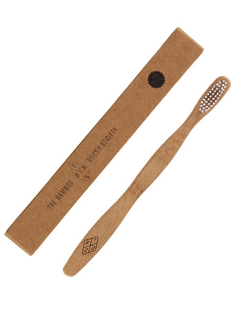 sustainable bamboo tooth brush: the bamboo brush society