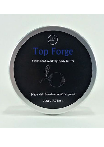 top forge, 200ml: hand, foot and body balm,  100% natural handmade skincare