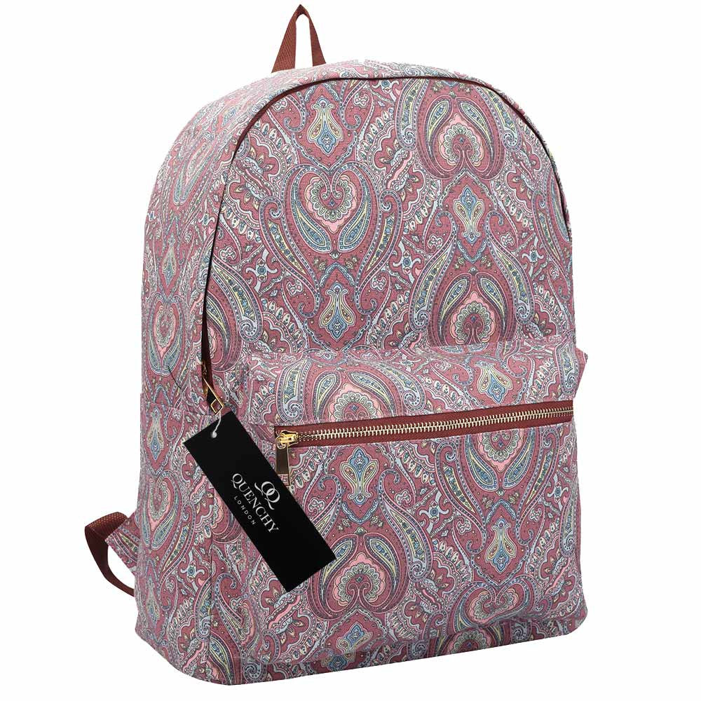 69d7bb47d21c 15 FUNKY COLOURS Canvas Backpack Rucksack Bag - Girls Ladies Womens ...