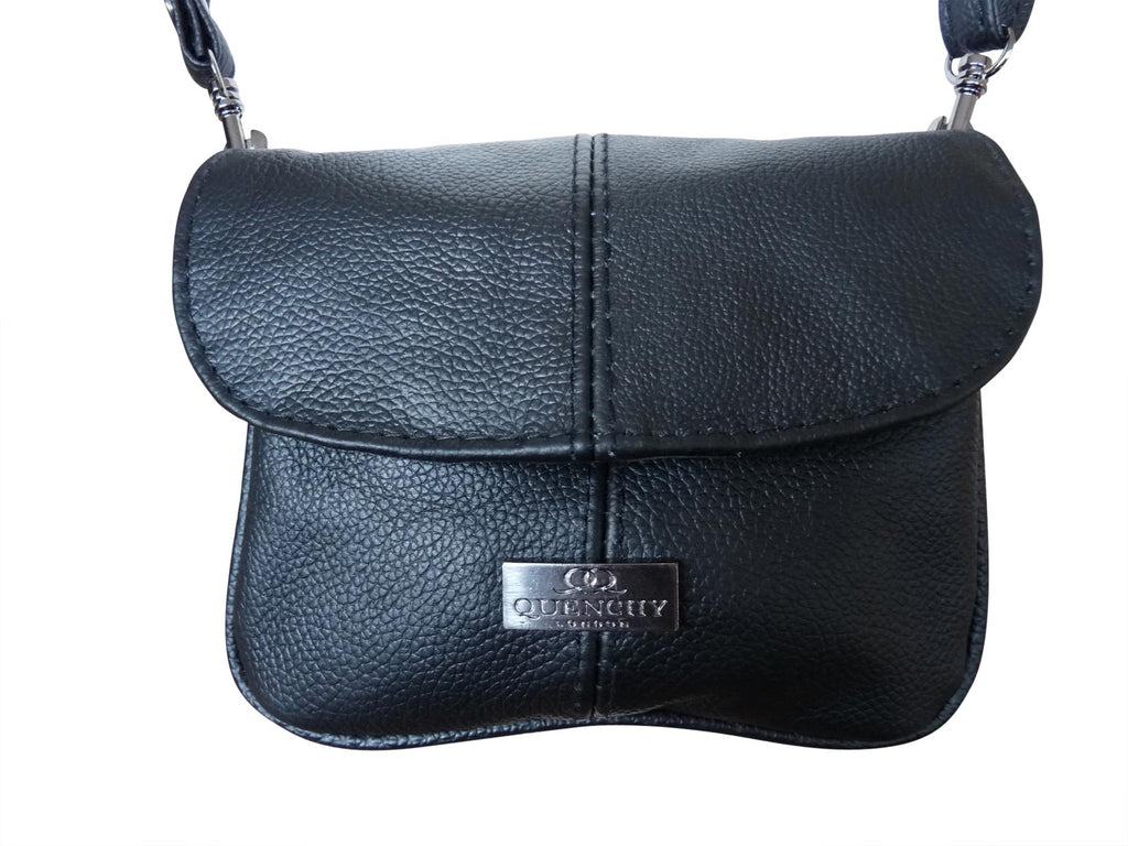 Small Leather Bag - Cross Body Handbag Pouch QL737