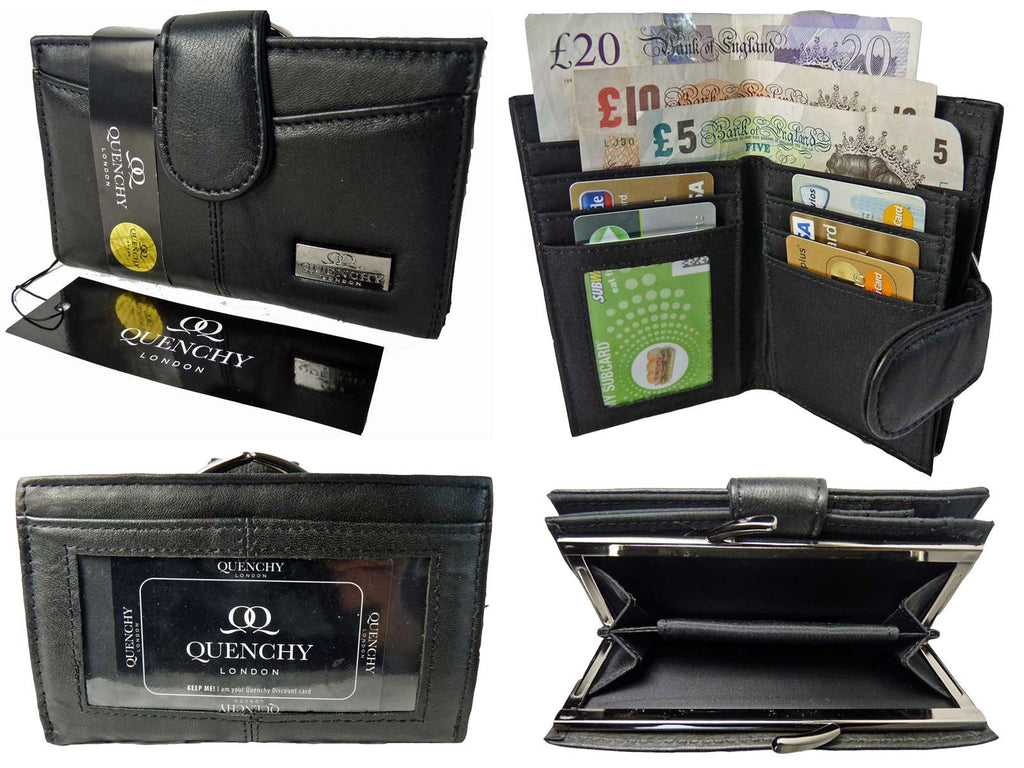 Medium Leather Purse QL226 Multi View