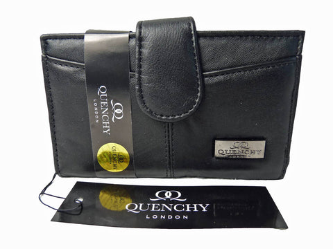 Medium Leather Purse QL226 Side View