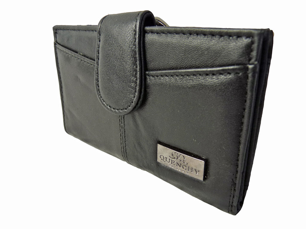 Medium Leather Purse QL226 r Side View