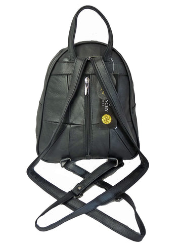 Leather Backpack Rucksack Handbag QL748f