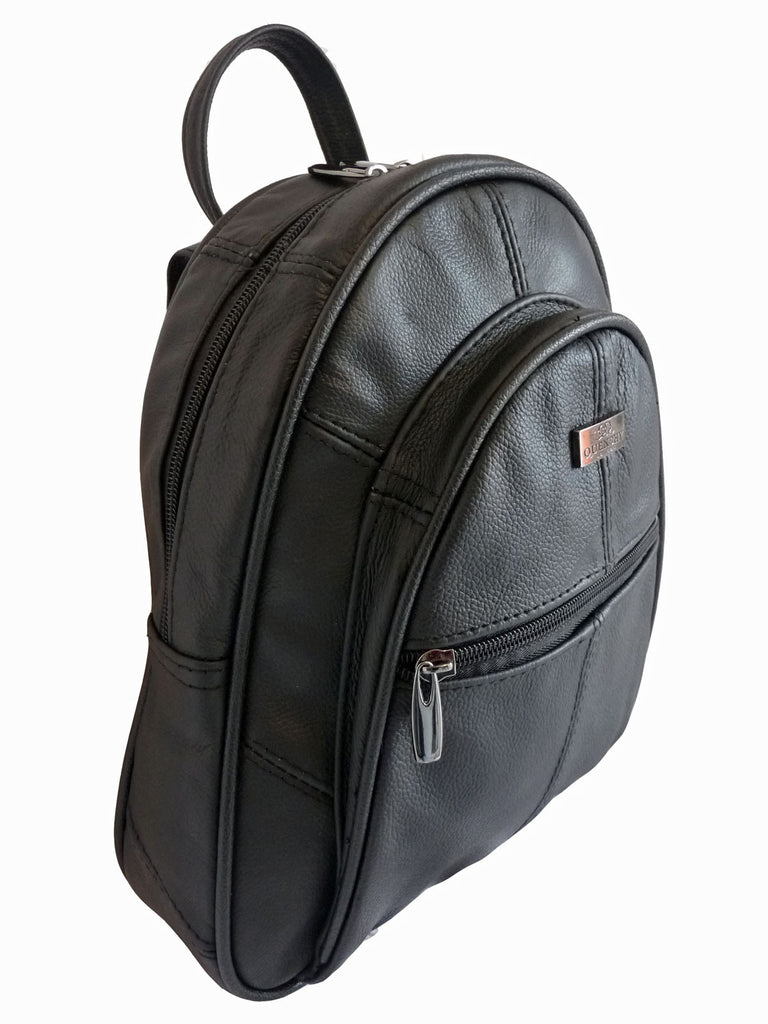 Leather Backpack Rucksack Handbag QL748 R Side View
