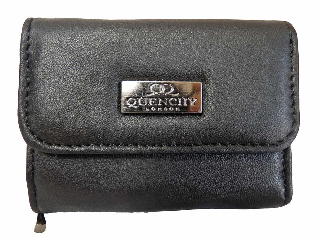 Small Leather Ladies Purse QL223 front view