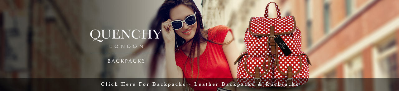 Quenchy London - Backpacks and Rucksacks