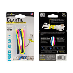 Cordable Twist Tie 6""