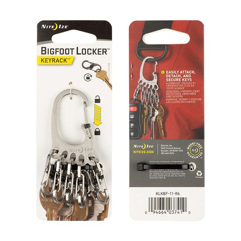 Carabiner Locker with S-Biner KeyRacks (Large)