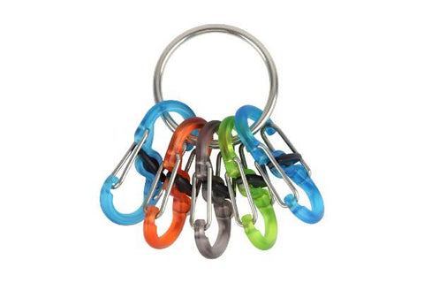 Key ring Locker with S-Biner KeyRacks  (SS)