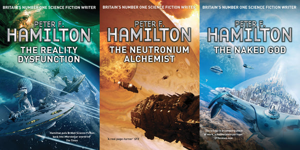 Peter F. Hamilton Night's Dawn Trilogy