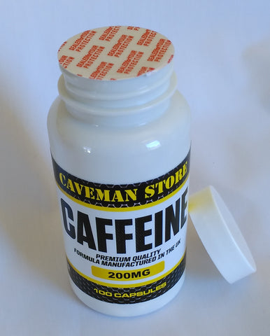 Caffeine Tablets - Made in the UK
