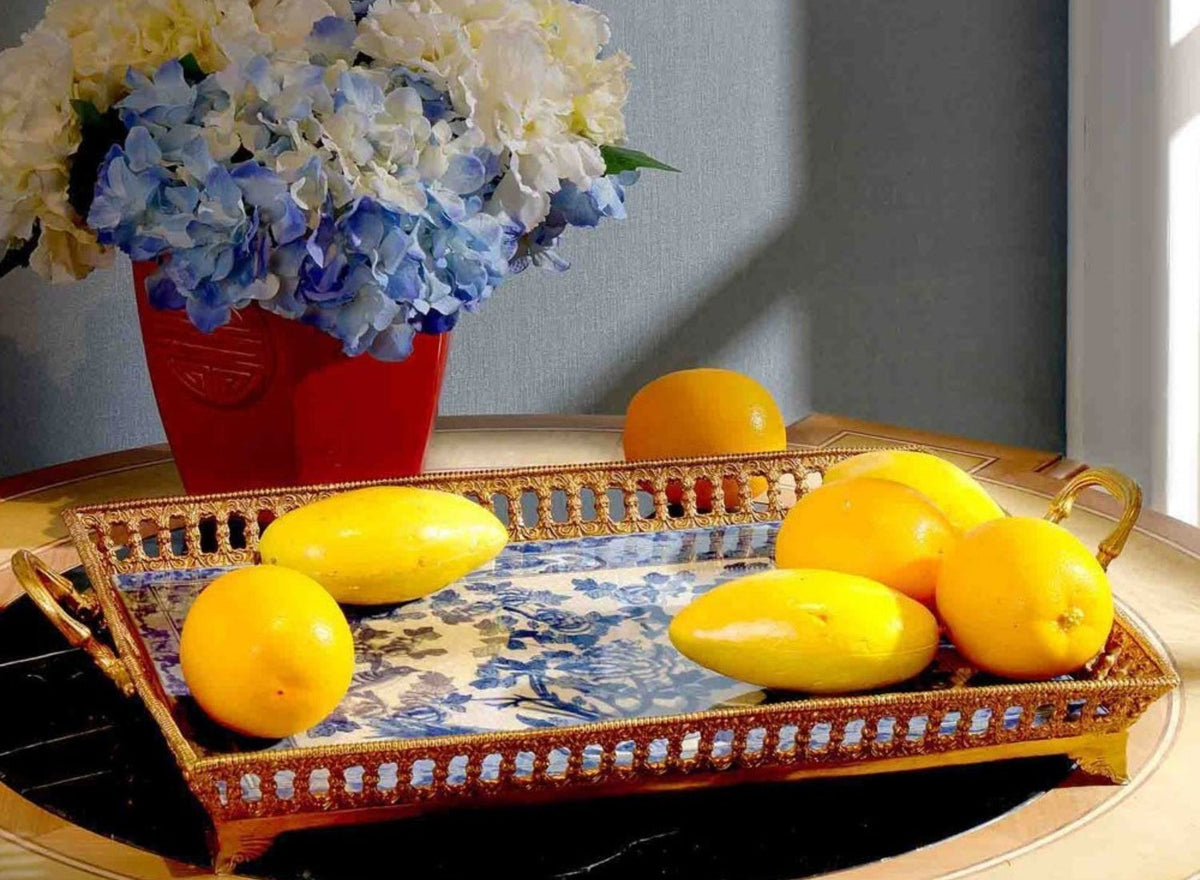 Decorative Tray & Plates