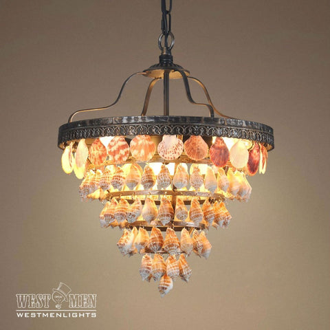 westmenlights capiz seashell chandelier