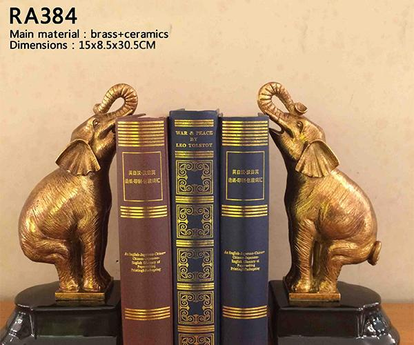 Unique Elephant Bookend