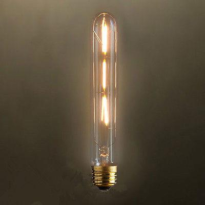 "3W E27 7.28""Led Cylinder Edison Bulbs 6 piece Lot"