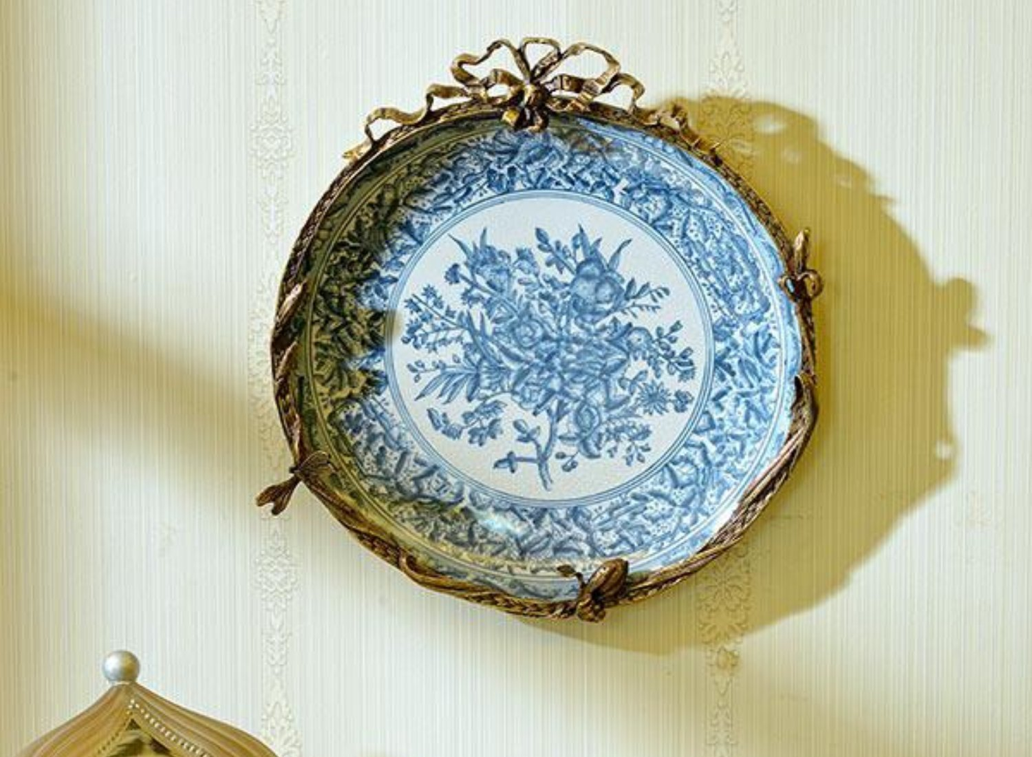 Blue &White Plate