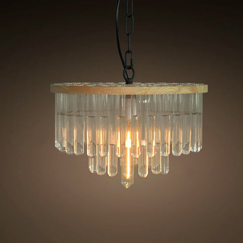 cuvette 1 light wood tier pendant light -  westmenlights