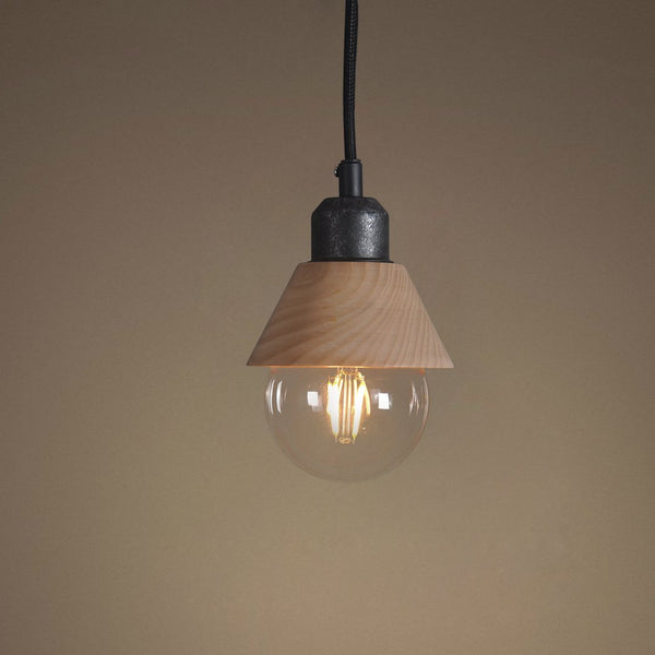 Wooden 1 Light Mini Pendant Light -  westmenlights