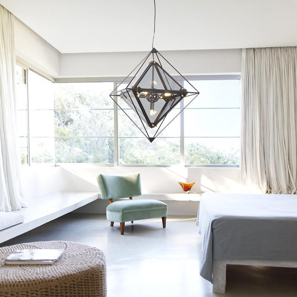 Diamond pendant light -  westmenlights