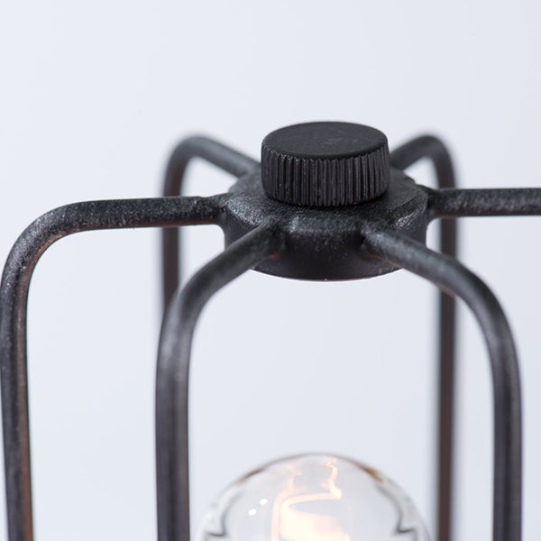 Cylinder 1 Light Cage Metal Mini Table Lamp -  westmenlights