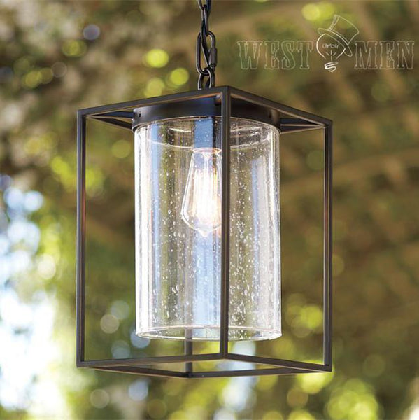 Teardrop Glass Pendant Lighting 1 Light