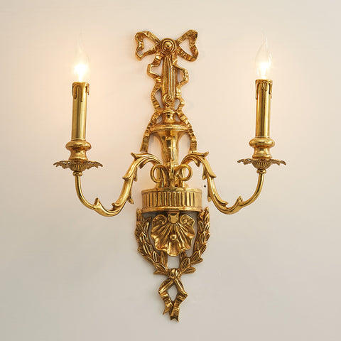 luxury gilt bronze sconce -  westmenlights