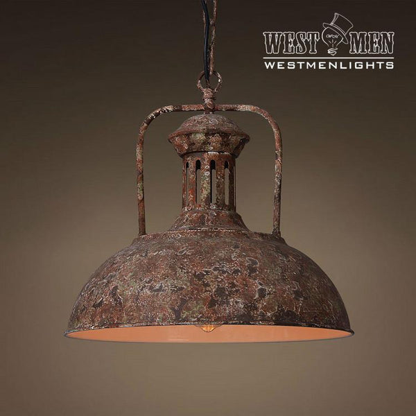 Dome 1 Light Mix Red Color Pendant Light Westmenlights