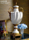 Porcelain Vase Potiche Jar Statement Urn Centerpiece Gilded Ornamental Dior Ormolu