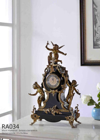 Classic Angel Clock -  westmenlights