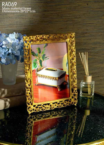 Bronze Decorative Picture Frame -  westmenlights