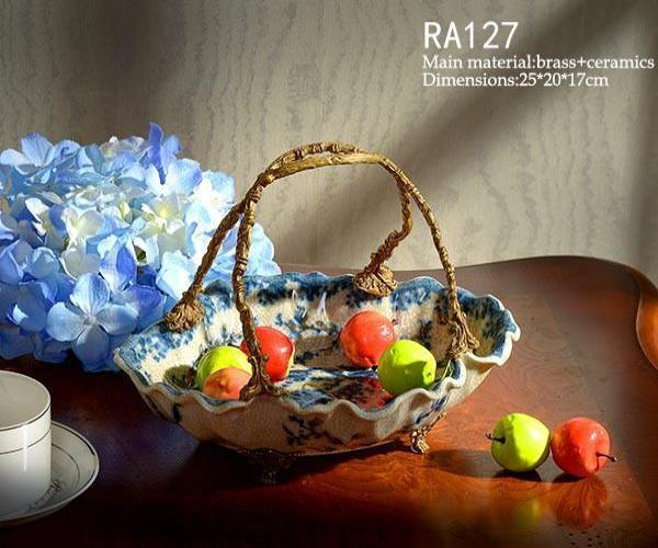 Decorative Waist Shaped Basket -  westmenlights