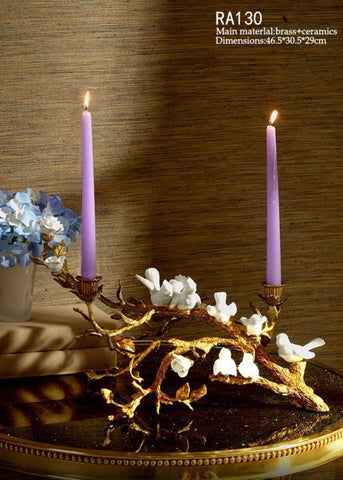 Classical Handmade Candle Stick Branch Craft -  westmenlights