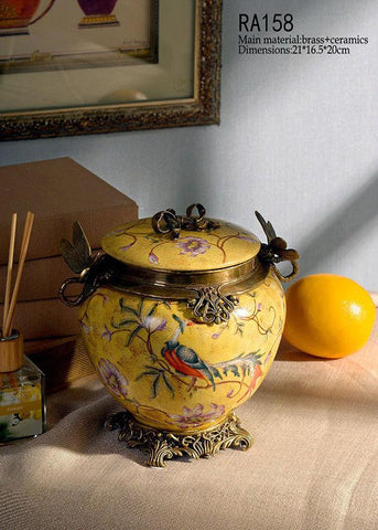 Traditional Dragonfly Container