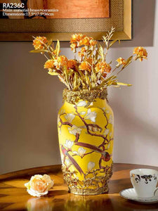 Colorful Porcelain Vase